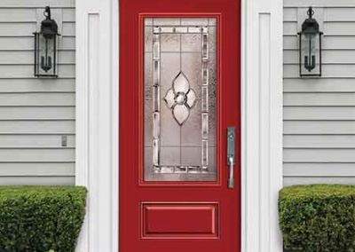 belmont fiberglass door series